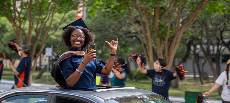 UTSA celebrates the Classes of 2021 and 2020